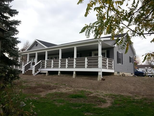 Modular Porches High Performance Modular Homes Porch