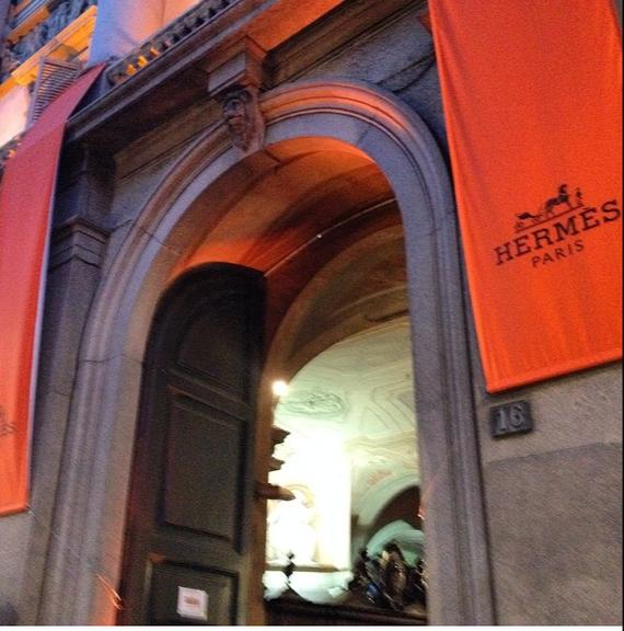 A Hermès marca presença no Salão do Móvel de Milão 2014 (DIVULGAÇÃO)