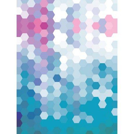 Hexagons Canvas Wall Art