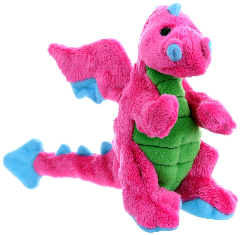Amazon Com Godog 770973 Dragons With Chew Guard Tough Plush Dog