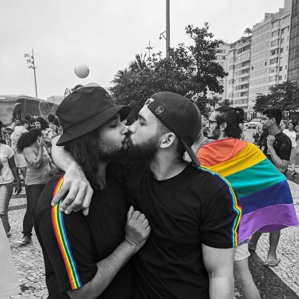 """""""O que vão dizer de nós? Seus pais, Deus e coisas tais... Quando ouvirem rumores do nosso AMOR!"""" 🏳️🌈💖⚡️✨ #flutua #goodmorning #tbt #lovewins #pride #just #happy #my #cute #pure #love #gay #boyfriend #for  #life #beautiful #boy #men #guy #fashion #style #look #street #perfect #day #selfie #road #trip #photooftheday #instagood"""