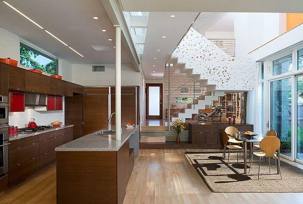 Renovated Leed Platinum Residence In Virginia 2edison7 Interior Design Interior Architecture Home Interior Design