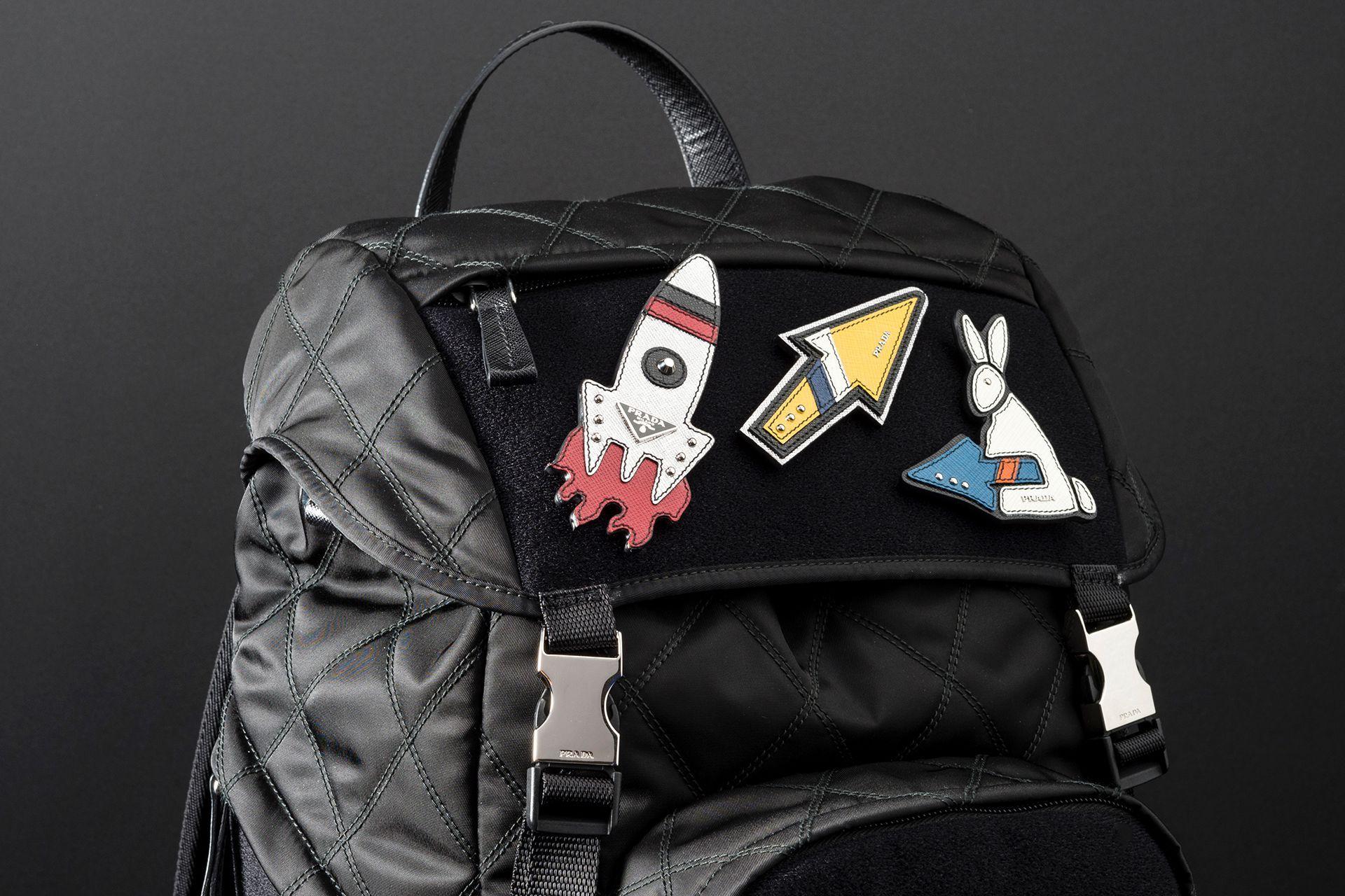 9c71419ca9a46d Prada Robot Pop-up   Prada Collezione   Herschel heritage backpack ...