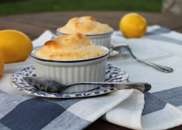 Food Lust People Love: Hot Lemon Curd Soufflés for #SundaySupper