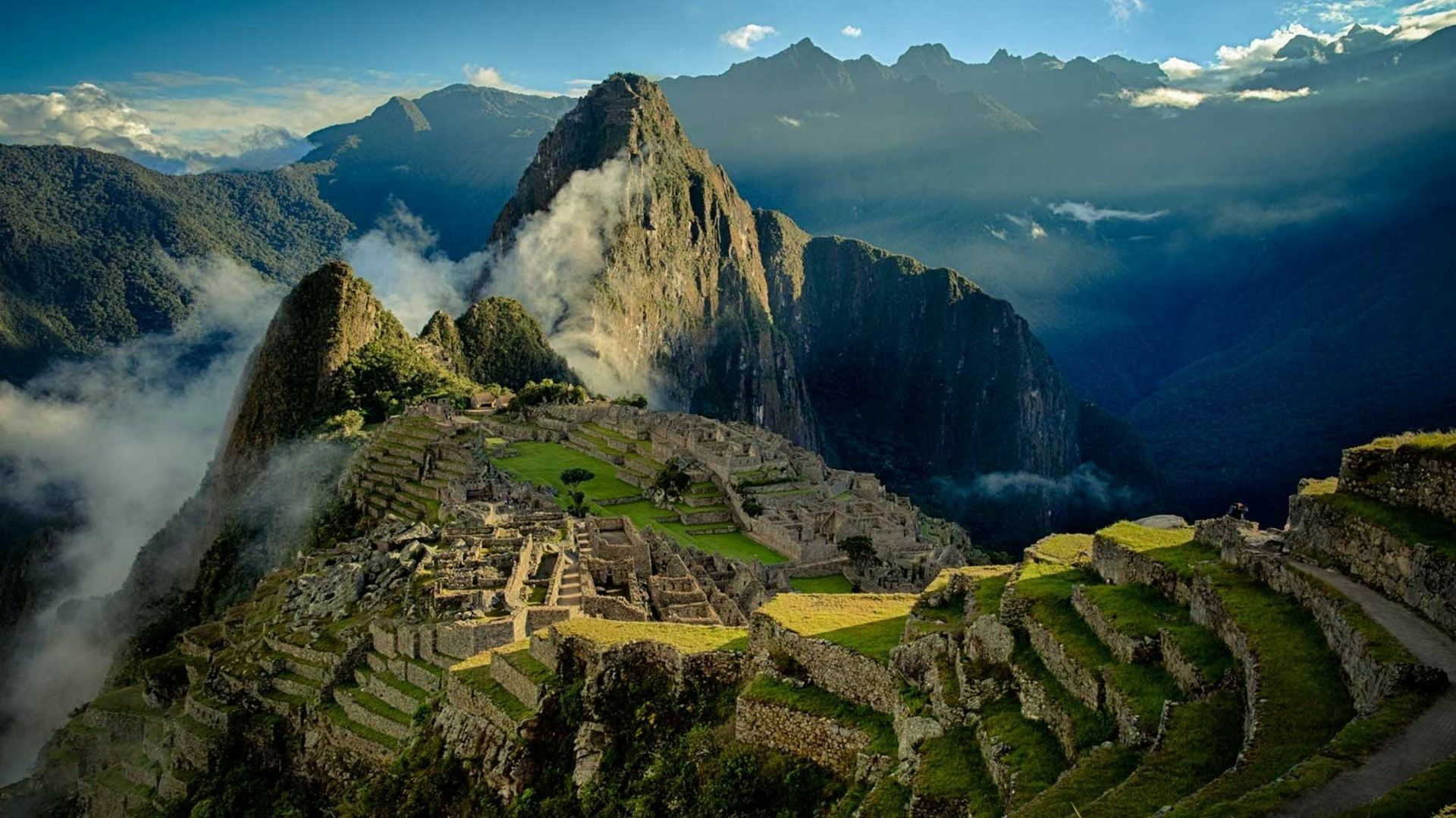 Machu Picchu Peru Desktop PC And Mac Wallpaper 1920x1078 Wallpapers 10