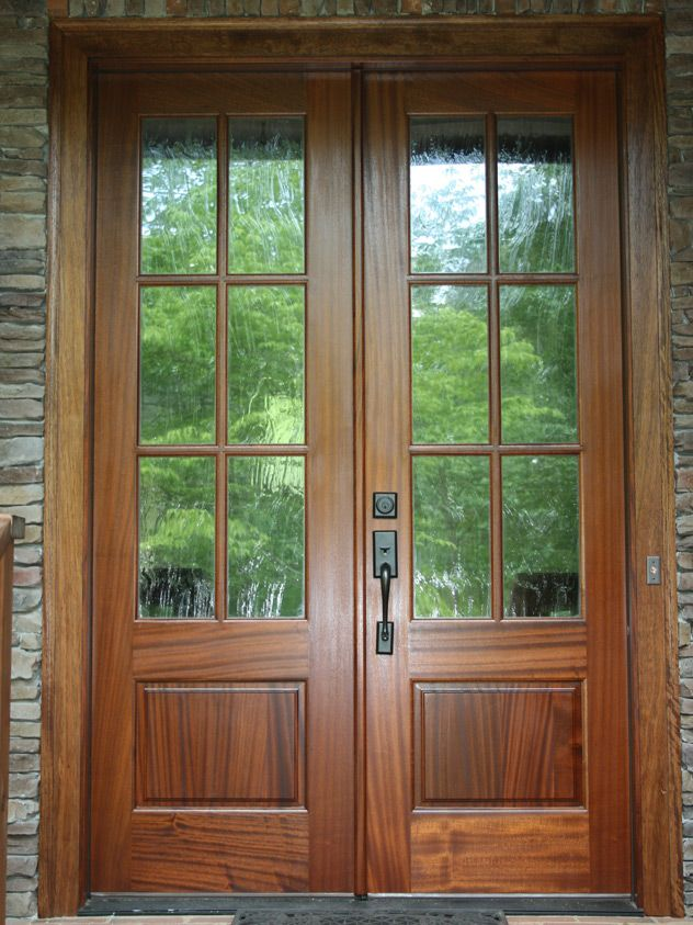 Replacing Single Door Sidelights With A Double Door Before After Replacement Door Photos Exo Double Entry Doors Double Front Doors Replacing Front Door