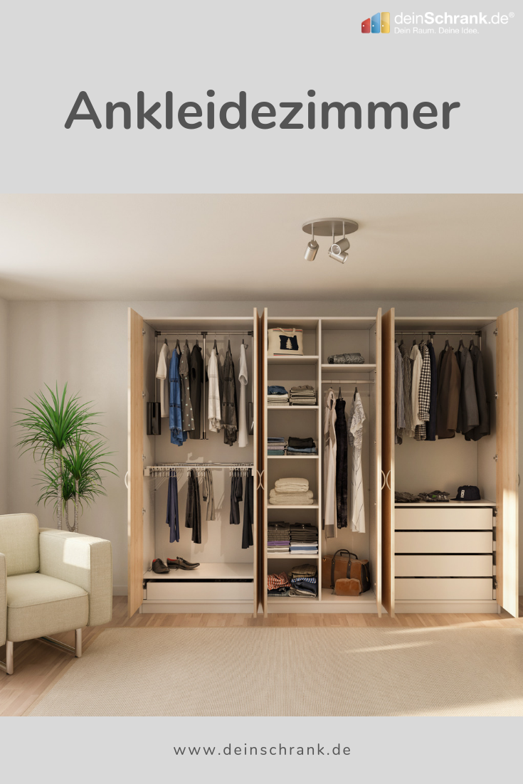 Ankleidezimmer Ankleide Kleiderschrank Nach Mass Kleiderschrank