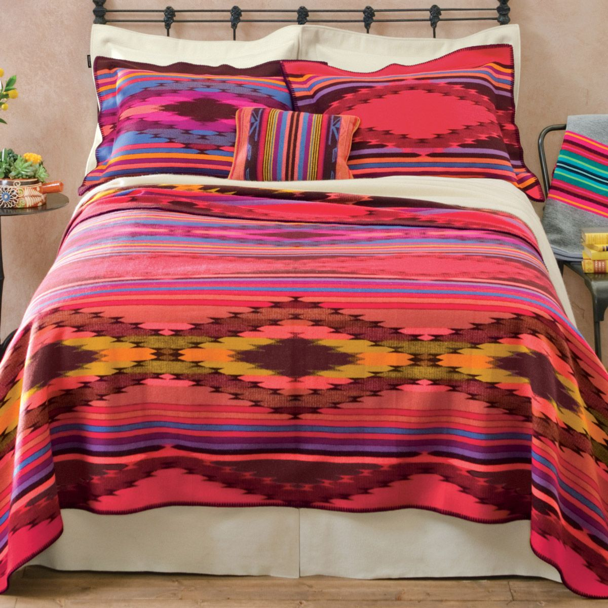 Bright River Wool Blanket Twin Bright Bedding Sets Western Bedding Bed For Girls Room