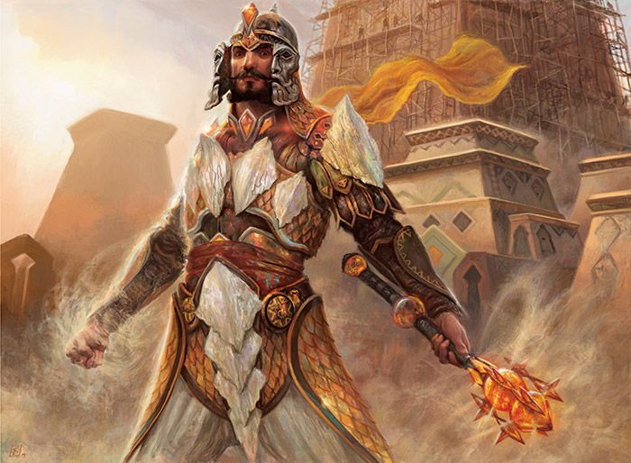 Tarkir of a thousand years ago was a rugged place.