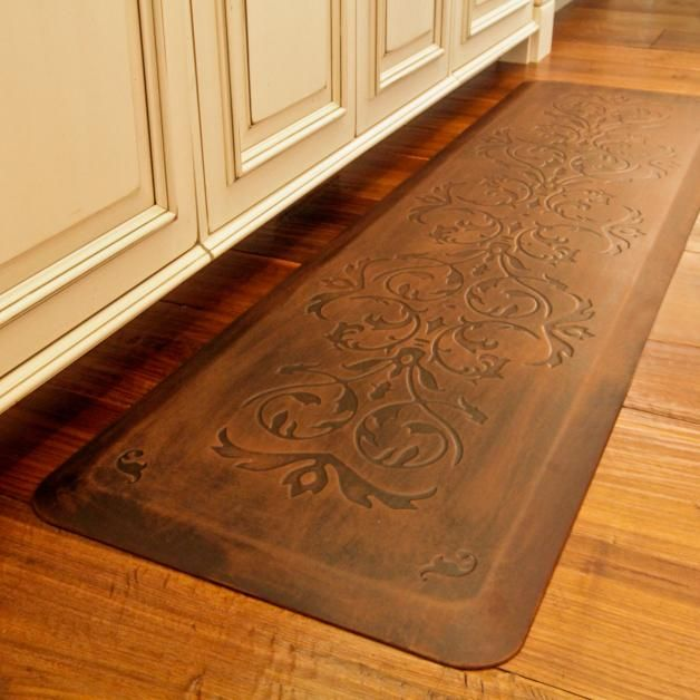 Classic Scroll Anti Fatigue Kitchen Comfort Mat Comfort Mats