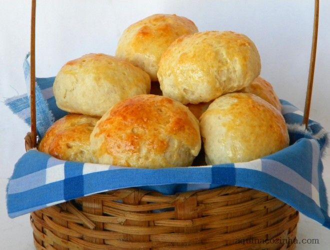 Pão de Minuto | Aqui na Cozinha