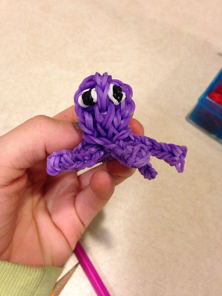 Octopus Made Out Of Crazy Loom Bands So Cute Made By Ellie