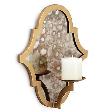 Meridian Wall Sconce Candleholders Accessories Decor