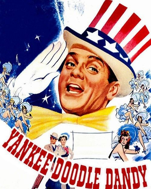 yankeedoodledandy starring jamescagney premiered on this