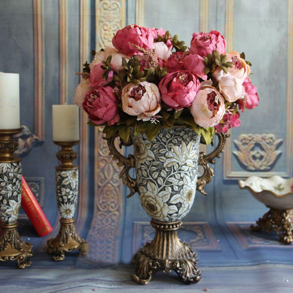 Home Decorative Flowers European Artificial Silk Flowers China 13