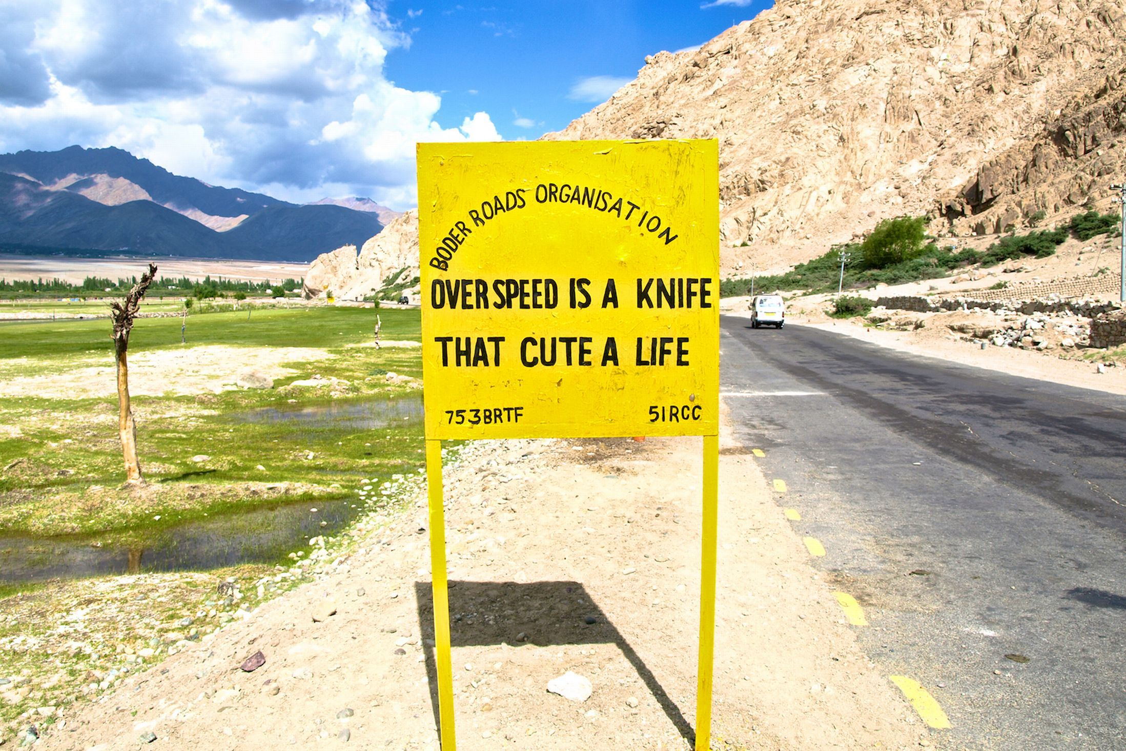 In pictures funny road signs greet drivers in the mountainous in pictures funny road signs greet drivers in the mountainous regions of india m4hsunfo