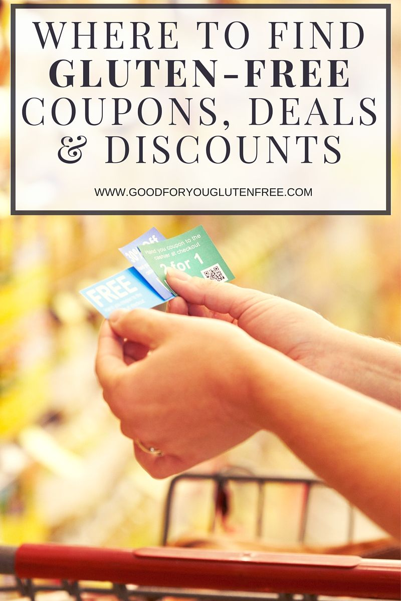 graphic regarding Gluten Free Coupons Printable called The place towards Obtain Gluten-Cost-free Discount coupons, Promotions and Price savings