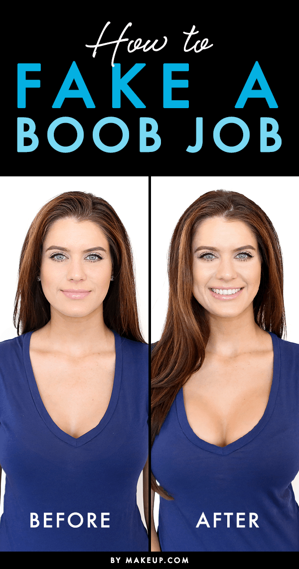 How To Fake A Boob Job  Simple Makeup, Makeup Tricks And -8645
