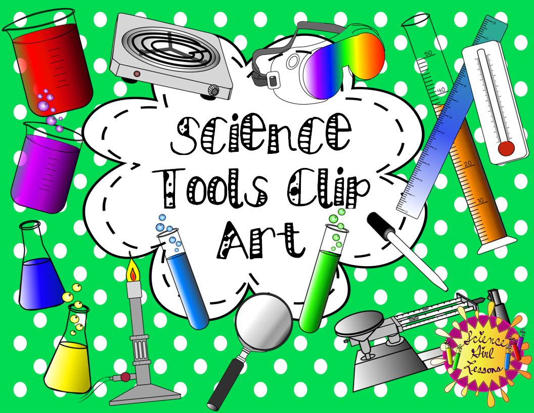 This delightful set of science tools will add beauty and value to your science products. Included are 95 images of common items found in a science lab.