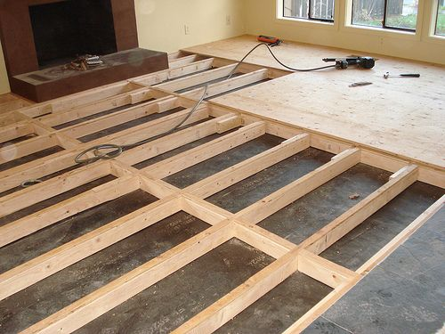 Raised Wood Flooring For Computer Rooms : Think maybe the sunken living room should stay kh client