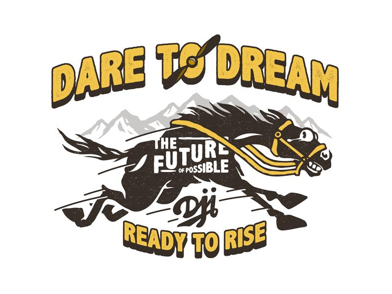 Dare To Dream By Monkeyben On Dribbble Logos Mascot Sport Team Logos