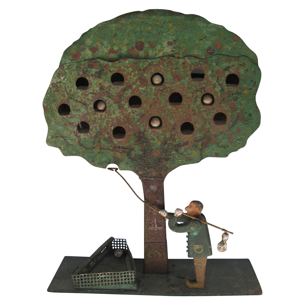 Antique Folk Art Apple Tree Shooting Target   Shooting targets, Folk ...