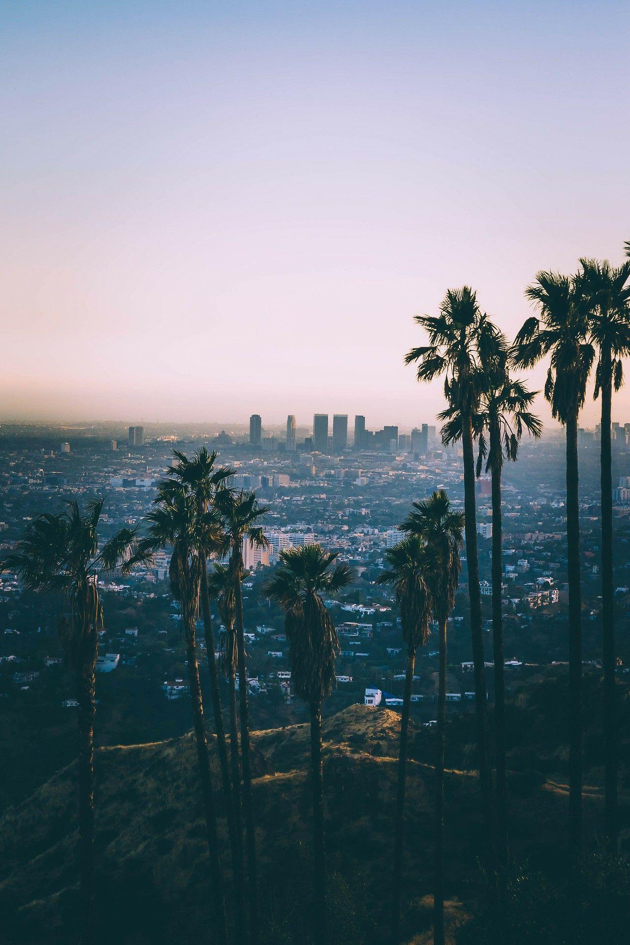 City Sunsets Sunset City California Travel Los Angeles Wallpaper