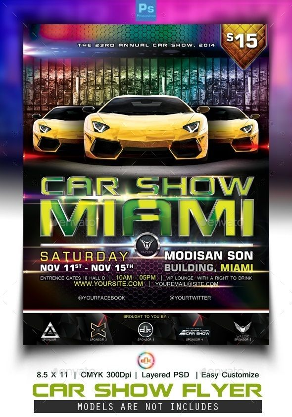 Car Show Flyer Cars, Flyers and Sports - car flyers