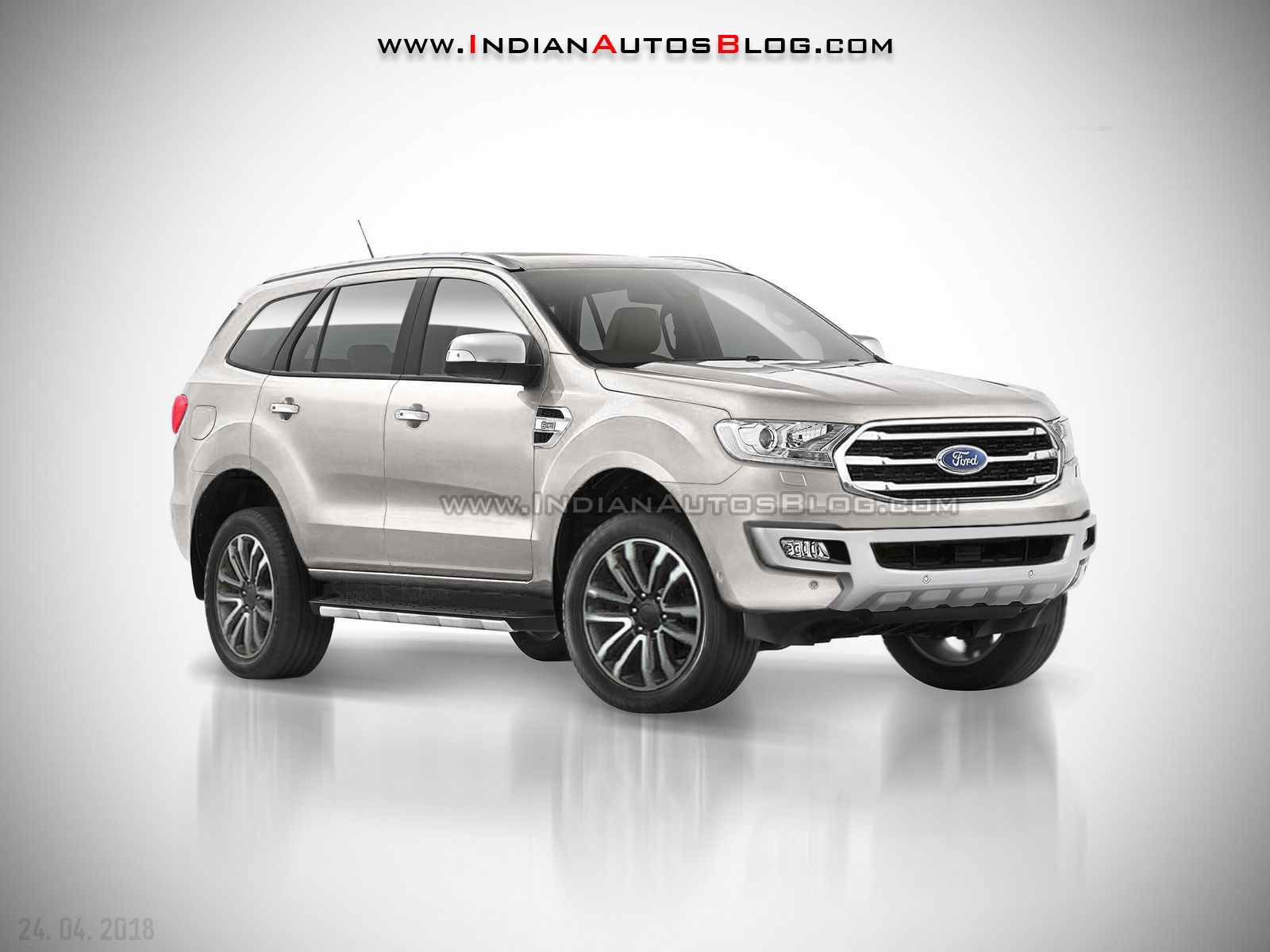 2018 Ford Endeavour 2018 Ford Everest Iab Rendering Cars Daily