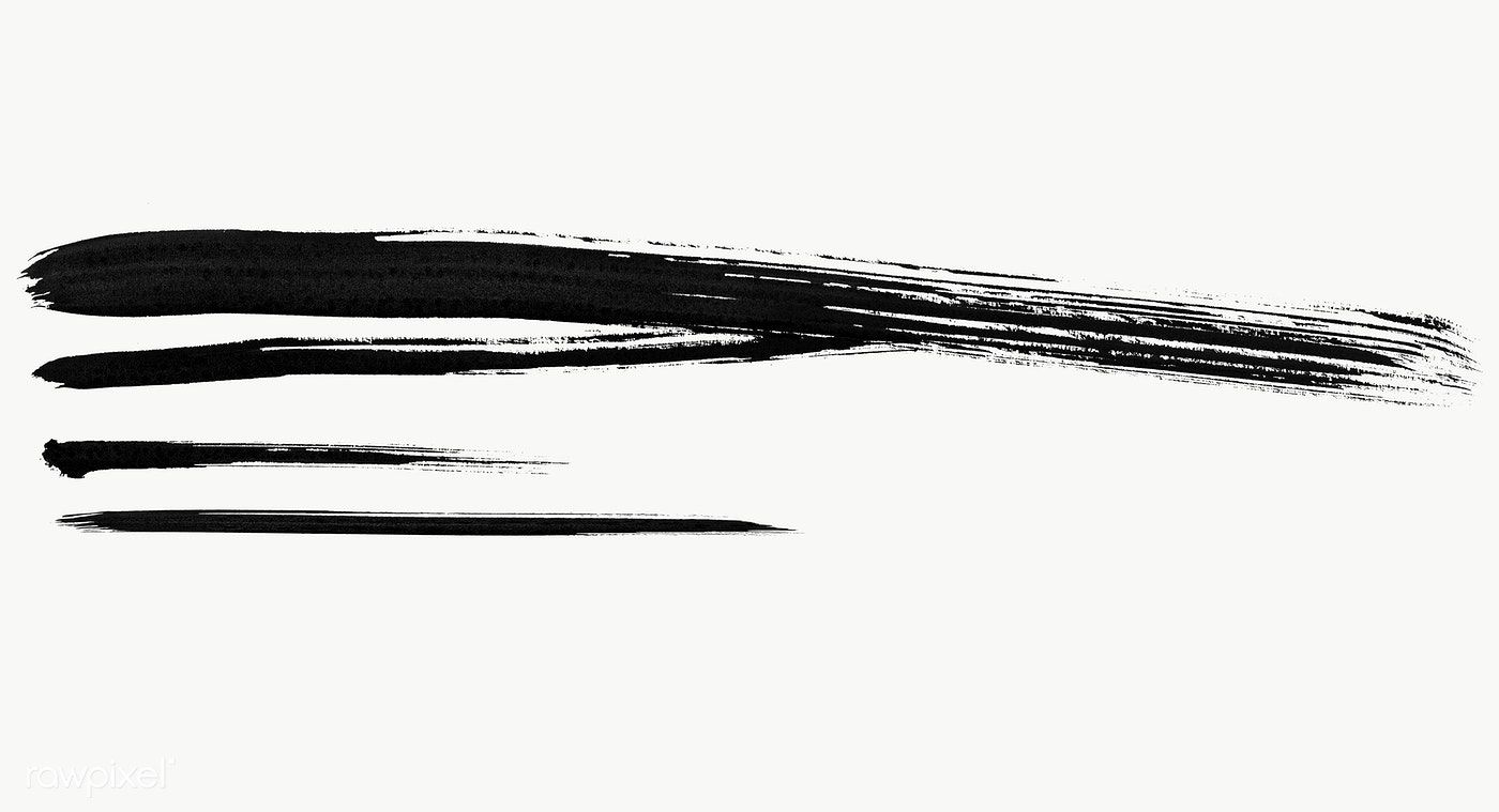 Abstract Black Brush Stroke Set Transparent Png Free Image By Rawpixel Com Aew Brush Strokes Abstract Transparent