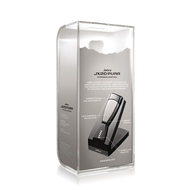 Jabra JX20 PURA on Packaging of the World - Creative Package Design Gallery