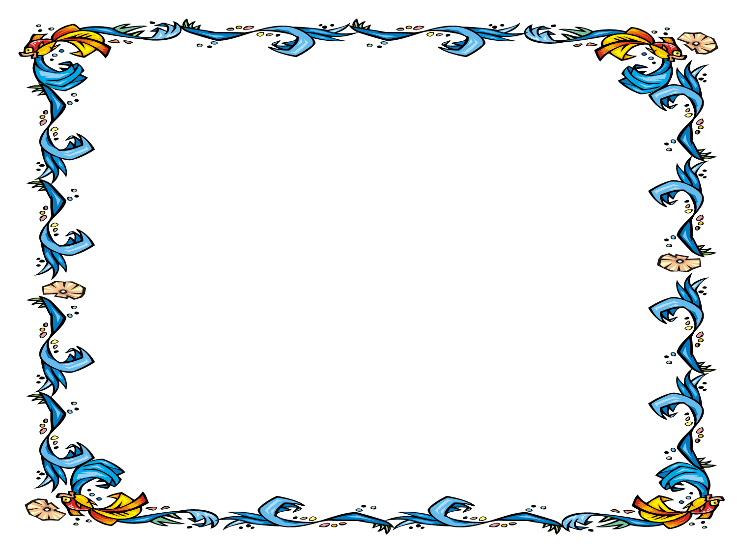 Free Powerpoint Template  Floral Certificate Border  Clipart Best