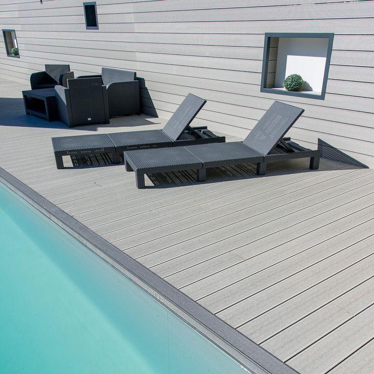 Podele De Exterior Wpc Wood Pool Deck Building A Deck Decks Backyard