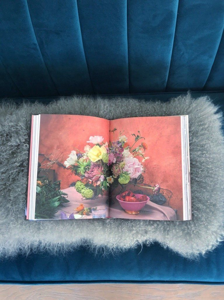 Living with Flowers by Rowan Blossom book review Roomy
