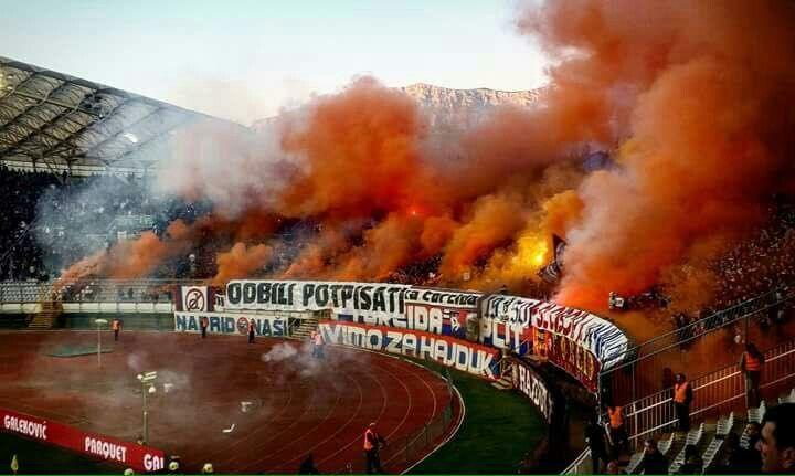 Torcida Split Hnk Hajduk Split Croatia Football