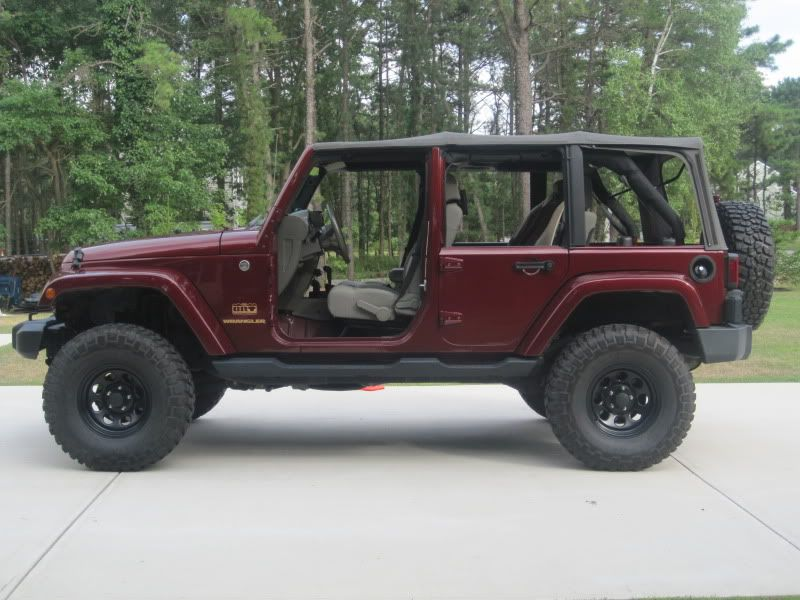 Full Front Door And Half Rear Doors Wrangler Unlimited