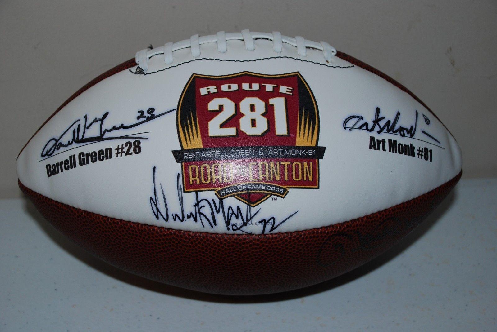 Autograhed Memorabilia Wash. Redskins Darrell Green fe23a5baa