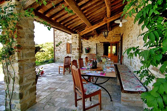 Porches in italy italy patio porch garden decoration porches casas de campo campo - Porches de casas de campo ...