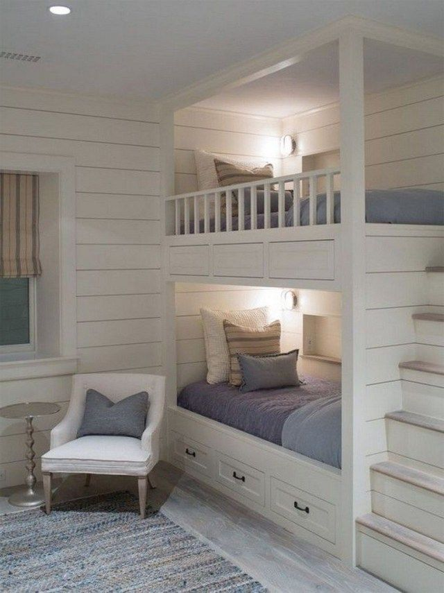 40 Lovely Bedroom Ideas For Home Bunk Beds Built In Bunk Beds