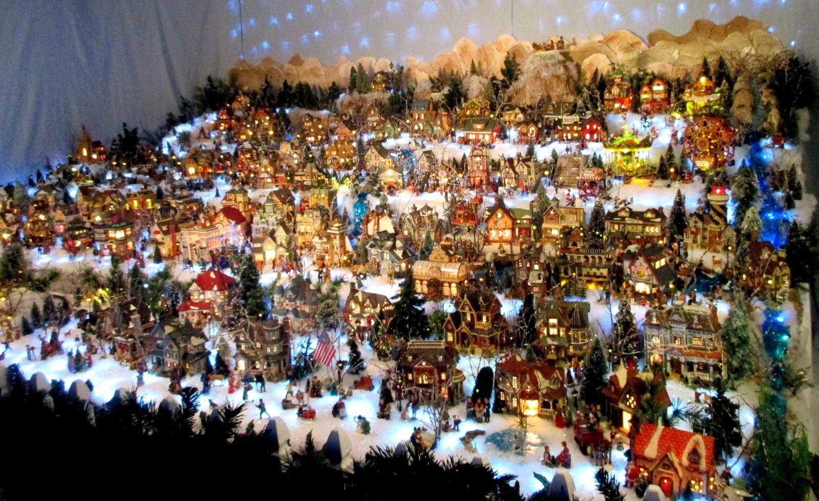 christmas village displays - Google Search