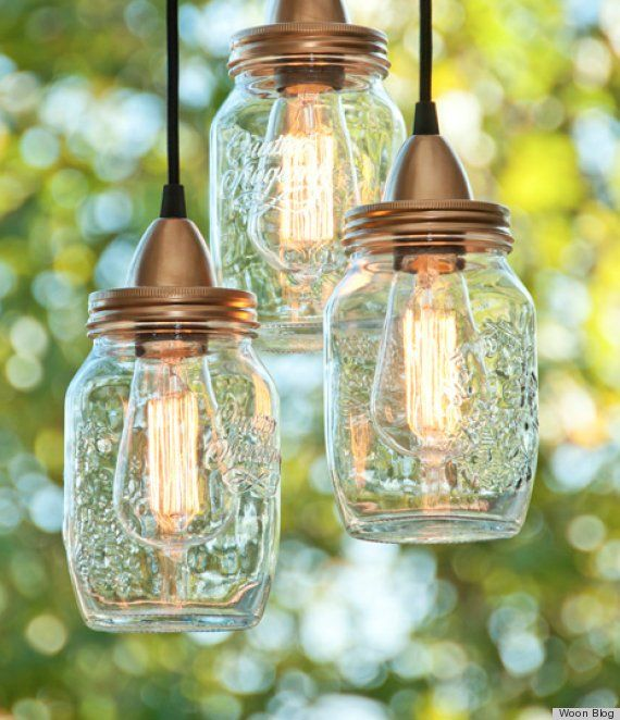Photos 7 Outdoor Lights That You Can Make Jar Lights Mason Jar Lighting Diy Outdoor Lighting