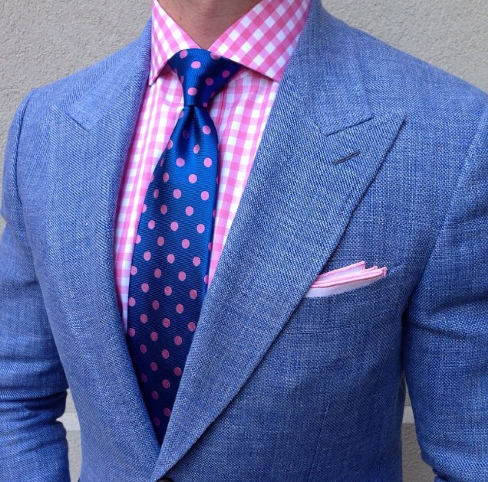 Pink dress shirt blue suit  Need Help Finding Good Shoes Try These Tips  Grown Men Style