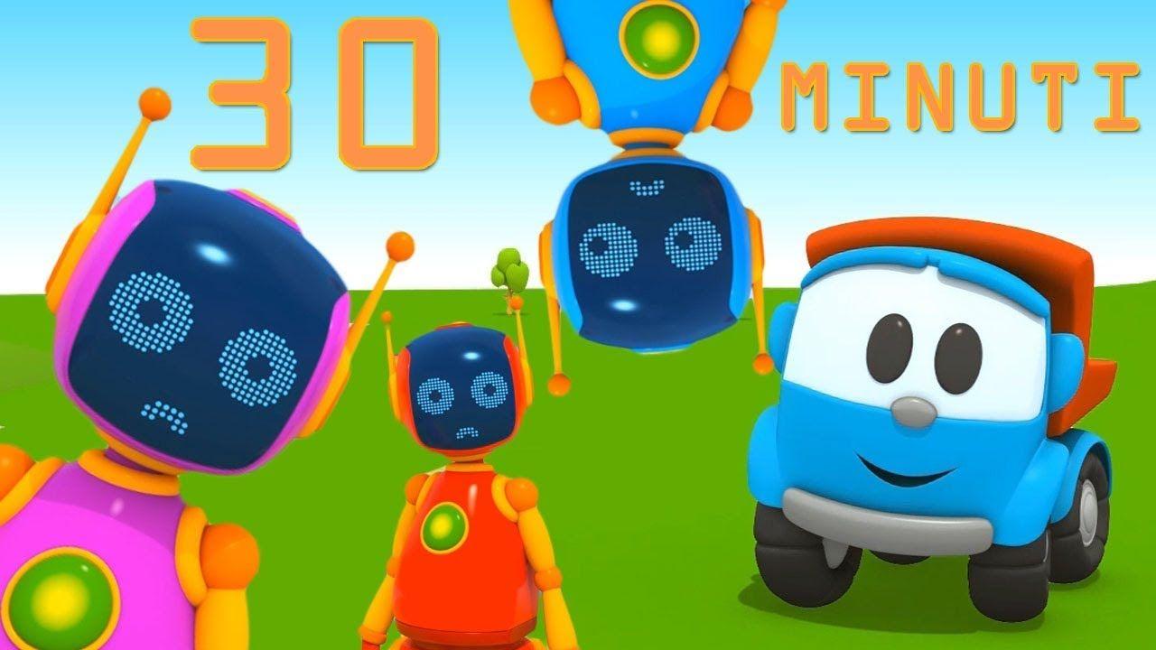 Compilation cartoni animati leo e i robot le puntate più belle