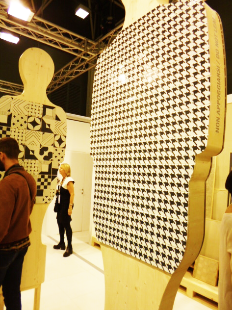 @ornamentatiles displayed its wares in a creative way at #Cersaie2015.