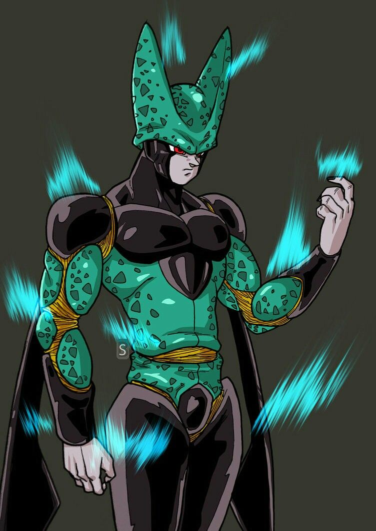 Super cell ultimate form db franchise dragon ball dragon ball z dragon - Super cell dbz ...