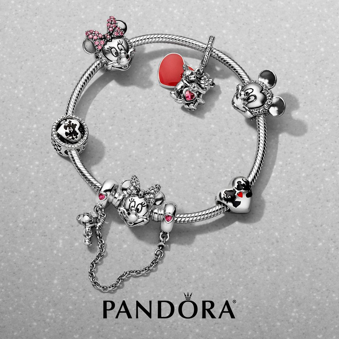 charms pandora minnie et mickey