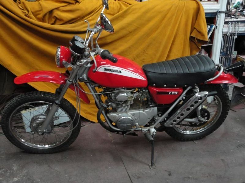 Pin on Vintage Japanese Dual Sport Motorcycles