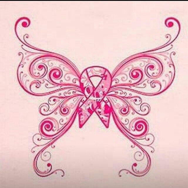 Butterfly Breast Cancer Tattoo Maybe To Put On A Shirt Jesse