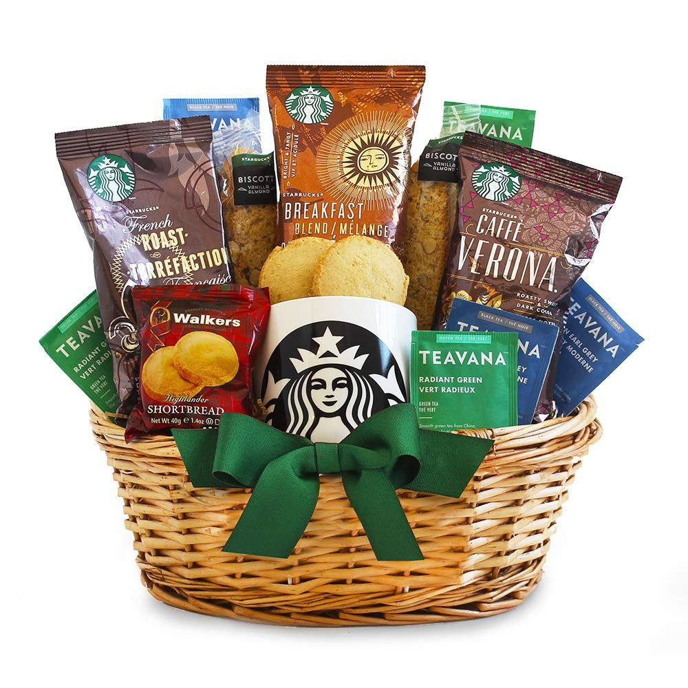 Starbucks Christmas Gift Basket idea Starbucks gift