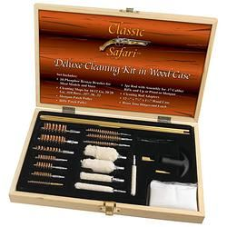 Classic Safari™ Deluxe Cleaning Kit in Wood Case